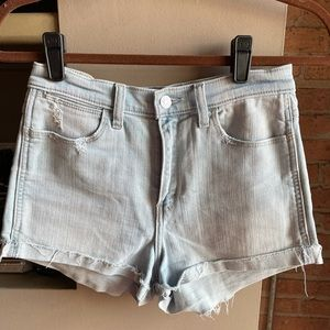 Abercrombie and Fitch High Rose Short Sz 27